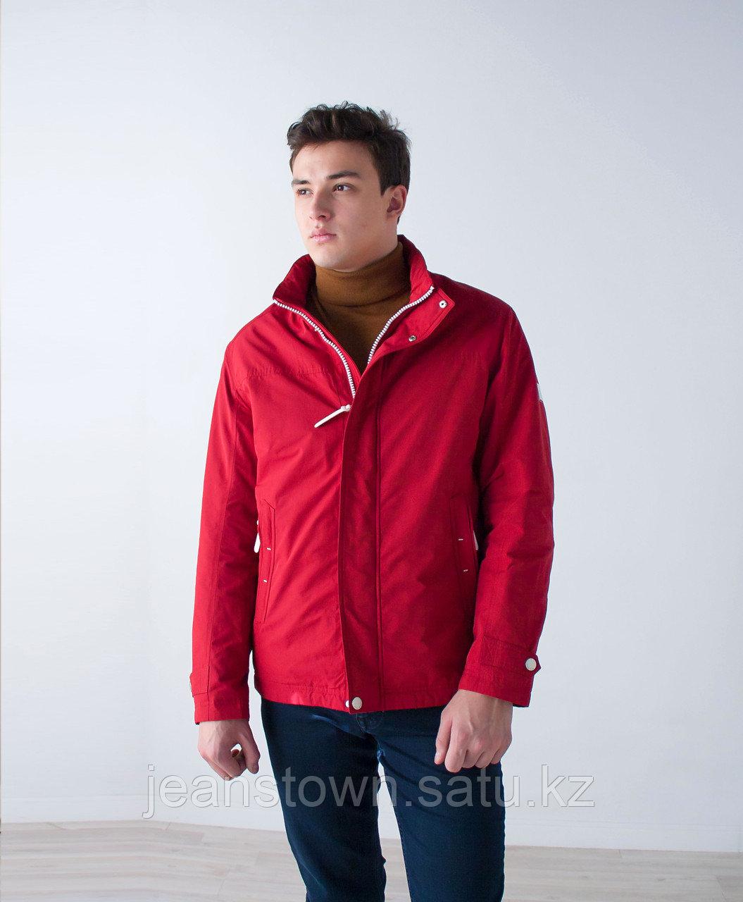 Куртка мужская демисезонная Kings Wind красная - фото 1
