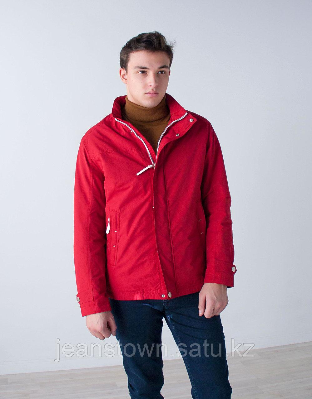 Куртка мужская демисезонная Kings Wind красная - фото 3