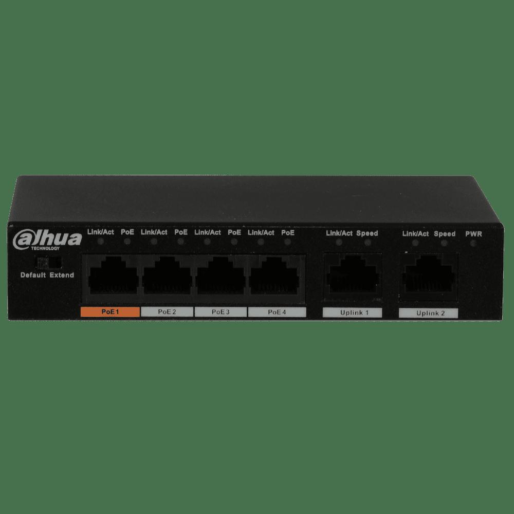 Промышленный сетевой коммутатор DAHUA PFS3006-4ET-60