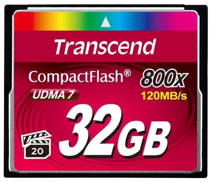 Transcend TS32GCF800 карта памяти 32GB CompactFlash 800