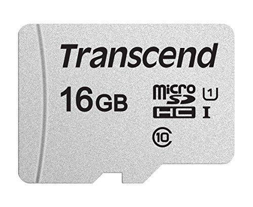 Transcend TS16GUSD300S Карта памяти MicroSD 16GB Class 10 U1