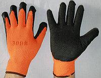 Перчатки ХБ с ПВХ покрытием #300