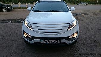Тюнинг Kia Sportage White  2