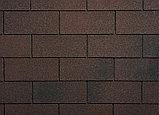 Гибкая черепица Ruflex (Коллекция Tab) Кедровый Орех, SBS (СБС) модифицированный битум, Гарантия 35 лет!, фото 2