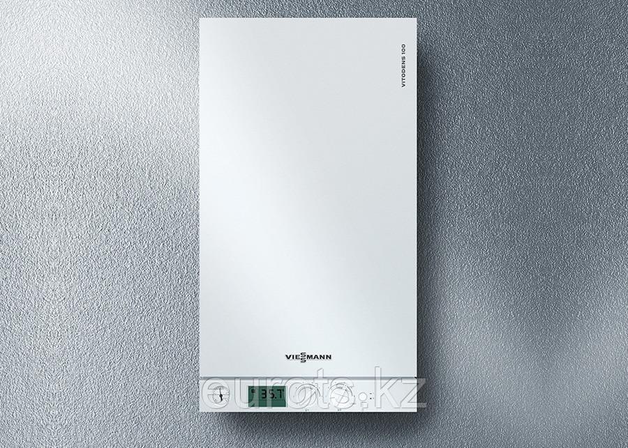 Настенный газовый двухконтурный конденсационный котел VITODENS 100-W