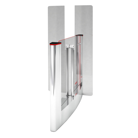 Центральный модуль турникета на 660мм с высокими створками 1800мм Oxgard QL-05-CMT-660