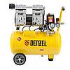 Компрессор DLS950/24 безмаслянный малошумный 950 Вт, 165 л/мин,ресивер 24 л// Denzel