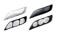 Защита фар /очки на Subaru Outback/Субару Аутбэк 1998-2002 темные, фото 1