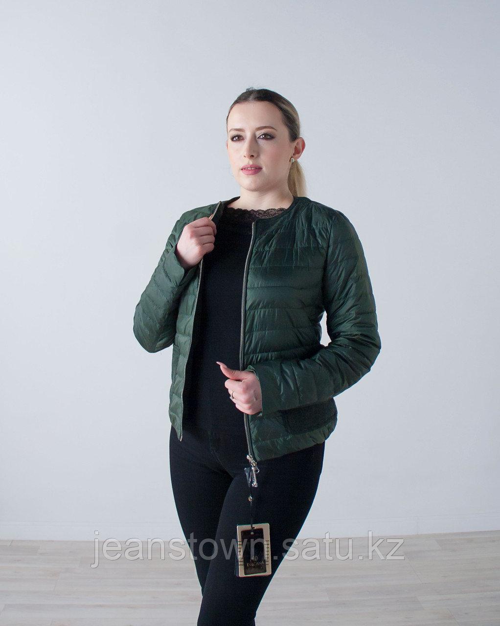 Куртка женская демисезонная  Evacana зеленая