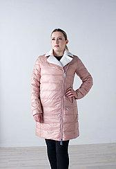 Куртка женская демисезонная  Evacana розовая