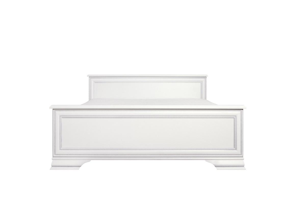 Кровать двуспальная, коллекции Кентаки, Белый Белый, БРВ Брест (Беларусь)