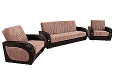 Комплект мягкой мебели Сиеста 2, Коричневый, АСМ Элегант(Россия), фото 2