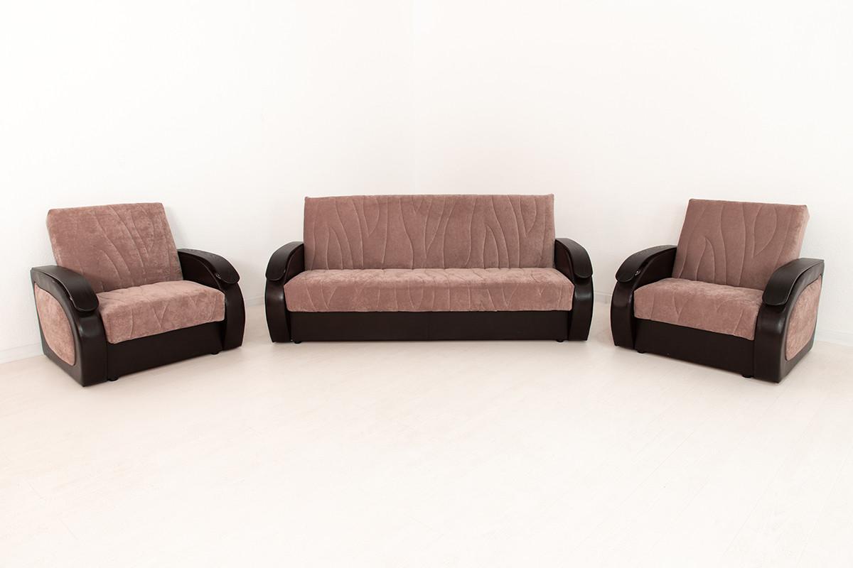 Комплект мягкой мебели Сиеста 2, Коричневый, АСМ Элегант(Россия)