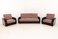 Комплект мягкой мебели Сиеста 2, Коричневый, АСМ(Россия)