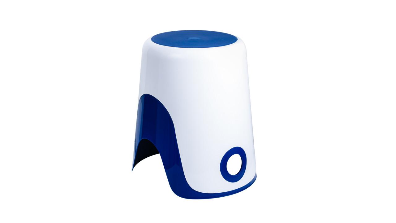 """FIXSEN """"WENDY"""" Корзина для белья 2 в 1 синяя FX-7073-89 (к/к 8)"""