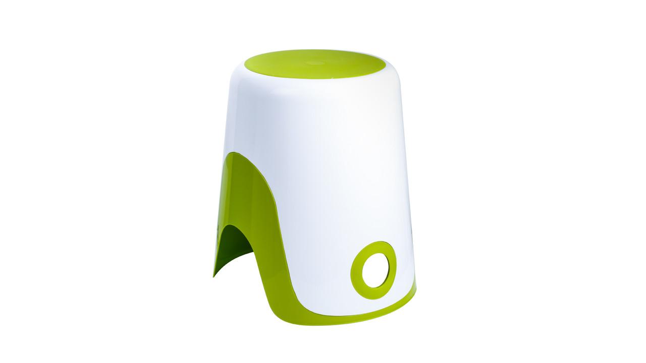 """FIXSEN """"WENDY"""" Корзина для белья 2 в 1 зеленая FX-7073-60 (к/к 8)"""