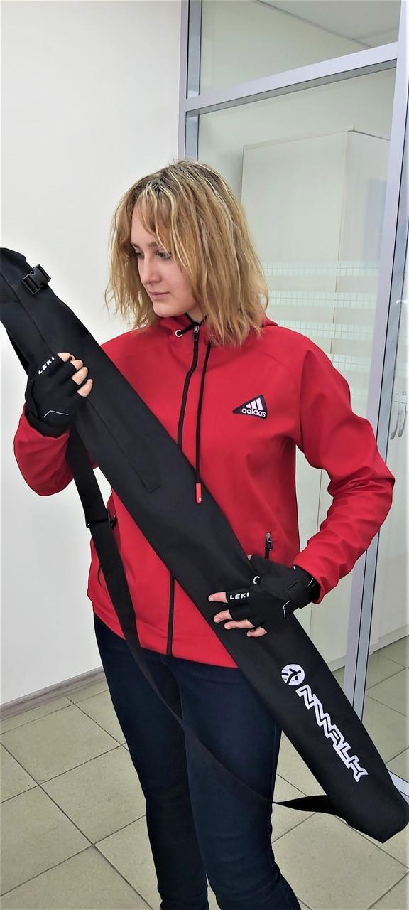 Чехол -трансформер NWALK черного цвета для палок до 120 см