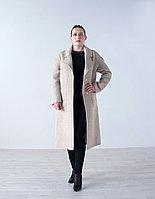 Пальто  женское демисезонное  Evacana  бежевое