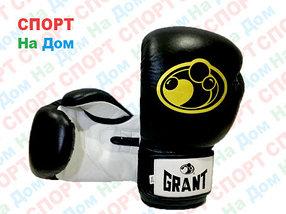 Боксерские перчатки GRANT кожа (черный)