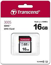 Transcend TS16GSDC300S Карта памяти SD 16GB Class 10 U1