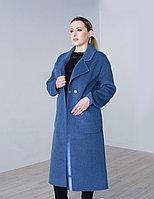 Пальто  женское демисезонное  Evacana голубое