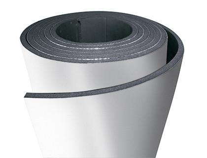 Каучуковая изоляция 10 мм, самоклеющаяся рулонная, для воздуховодов с алюминием