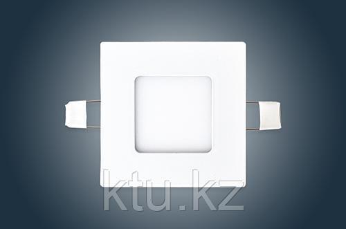 Светильник Спот-F 3W 180Lm 6500K внутренний, квадратный, с драйвером