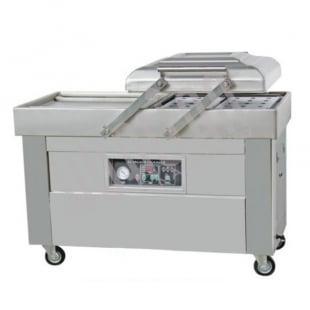 Напольная двухкамерная вакуум-упаковочная машина DZ-500/2SB SS (нерж.) LOW COST