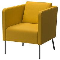 Кресло ЭКЕРЁ Шифтебу желтый ИКЕА, IKEA, фото 1