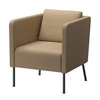 Кресло ЭКЕРЁ Шифтебу бежевый ИКЕА, IKEA, фото 1
