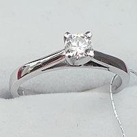 Сертификат GIA 0.20Сt VS2/I EX-Cut Золотое кольцо с Бриллиантом, фото 1
