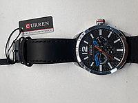 Мужские часы Curren. Модель 8247. Наручные. Кварцевые. Kaspi RED. Рассрочка.
