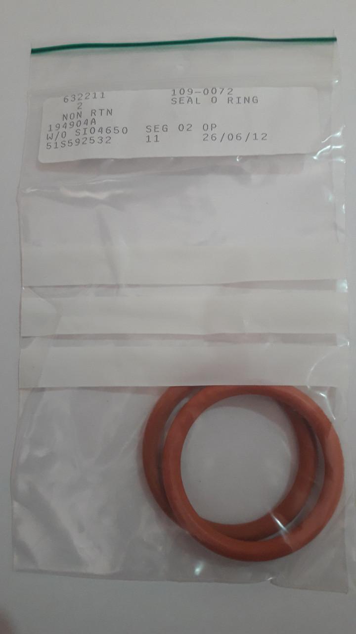 109-0072: O-ring Inside Diameter (mm):  41x5.33