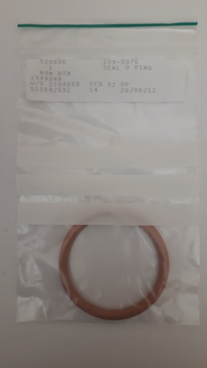 109-0076: O-ring Inside Diameter (mm):  50x5.33