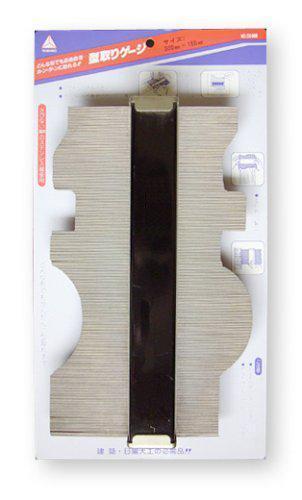 YAMANO Шаблон для копирования сложных профилей 300 мм