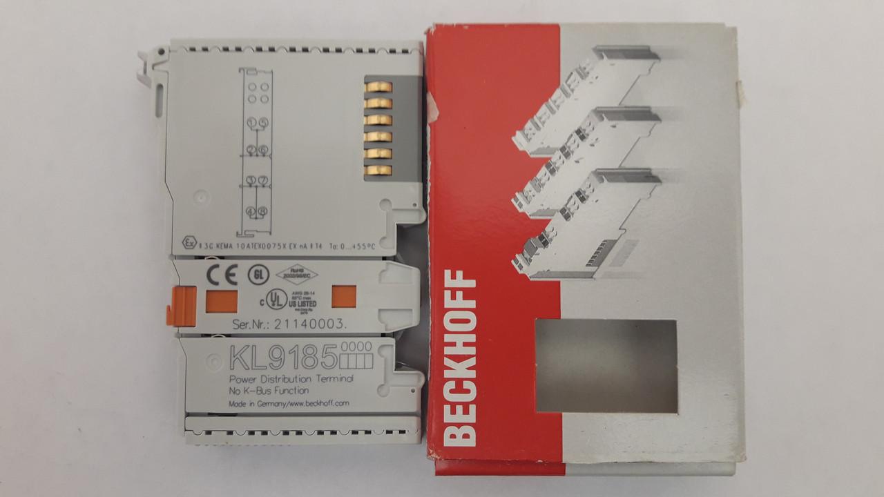 KL9185 Beckhoff  Модуль распределения потенциала, 4 точки подключения на 2 контактах (на остатке 3 шт. )