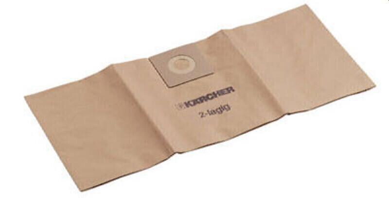 6.904-210.0 KARCHER Фильтр-мешок, бумажный, (Упак. 5 шт). для пылесосов