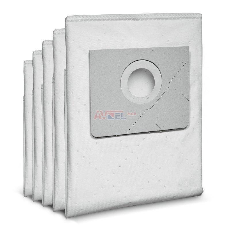 6.907-749.0 KARCHER Фильтр-мешок,синтетический нетканый (Упак. 5 шт). для пылесосов