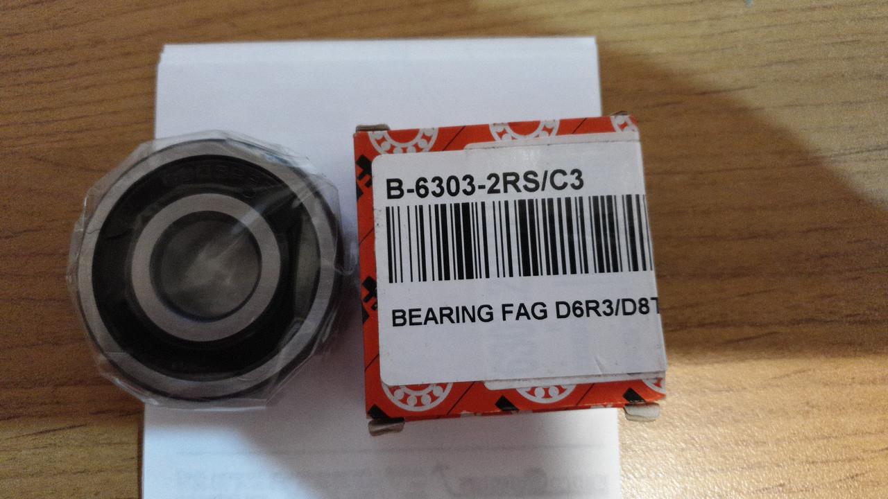 B-6303-2RS/C3 Подшипник шариковый BEARING FAG D6R3 330D 365C D8T 325D P