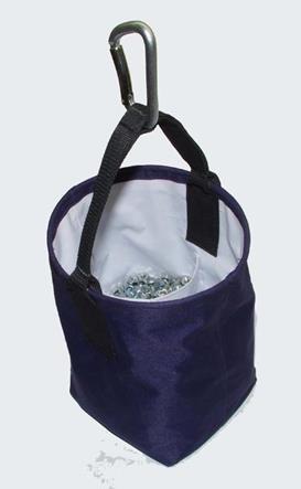 Synthetic bucket for bolt and nuts 100 lbs | Сумка-ведро монтажника для болтов СВБ45