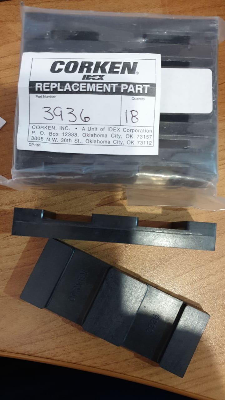 3936 Лопатка наноса Blade насосов Z3500.Corken