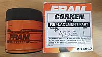 4225 CORKEN Масляный фильтр PH4967 FRAM Extra Guard Sure Grip Engine Oil Filter