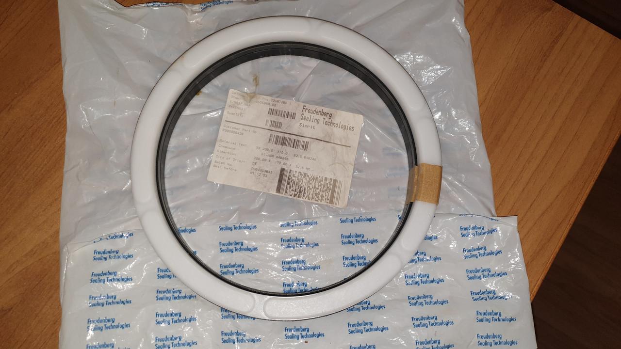 24266531 Комплект уплотнений EK   BI-NBR B4B246   200X170X32,5 MM   Merkel Chevron seal set series EK