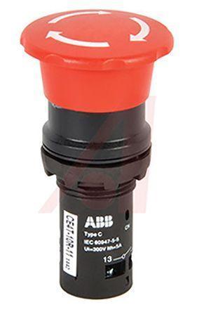 CE4T-10R-11 Кнопка аварийная с фиксацией ABB арт. 1SFA619550R1071