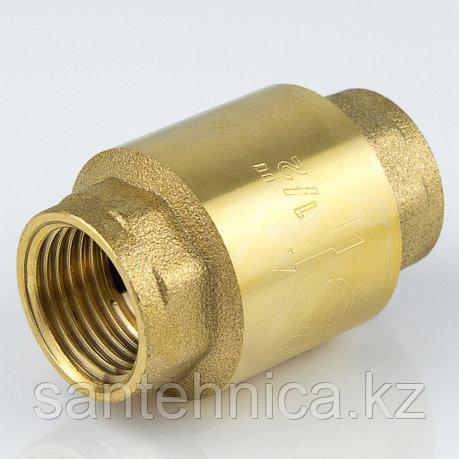 """Клапан обратный латунь Ду 20 (3/4"""") Ру16 шток пластик внутр./внутр., фото 2"""