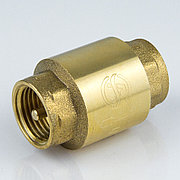 """Клапан обратный латунь Ду 25 (1"""") Ру40 шток латунь внутр./внутр."""