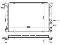 Радиатор HYUNDAI H1/H200/STAREX 2.4/2.5TD/2.6D 97-07