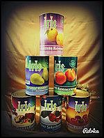 Консервированные фрукты и ягоды