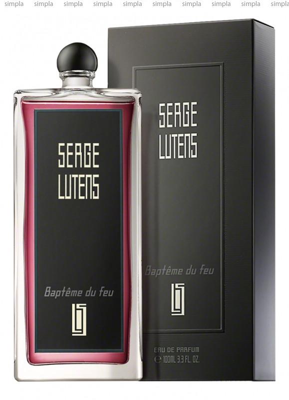 Serge Lutens Bapteme du Feu Noir парфюмированная вода  (ОРИГИНАЛ)