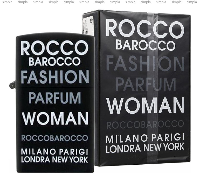 Roccobarocco Fashion Woman туалетная вода  (ОРИГИНАЛ)